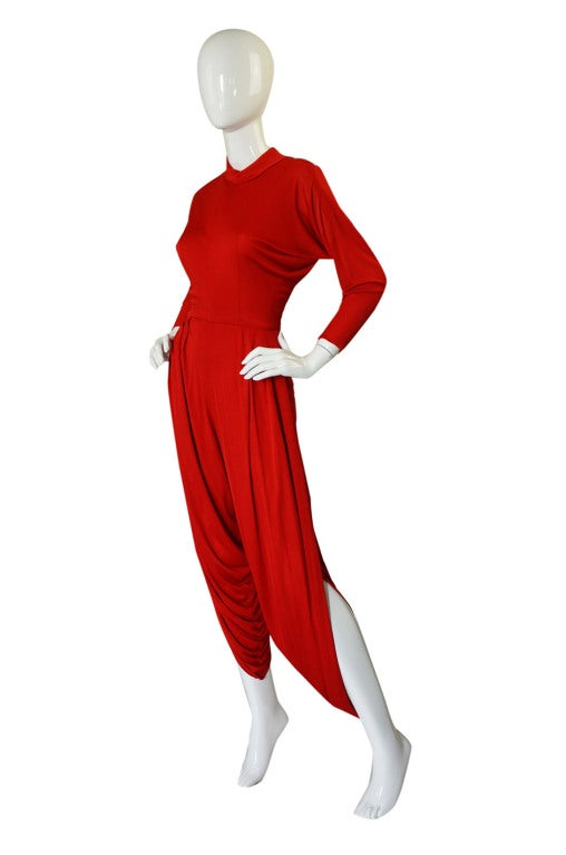 1960s Maxwell Shieff Harem Jumpsuit image 3