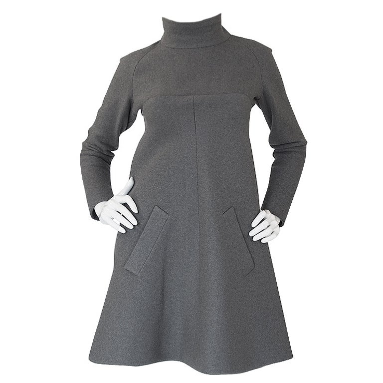 c39dabe66b4 1960s Numbered Haute Couture Jean Patou Dress at 1stdibs