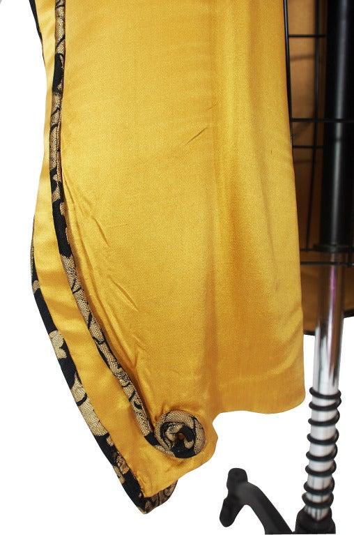 1920s Gold Lame Flapper Cocoon Coat 10