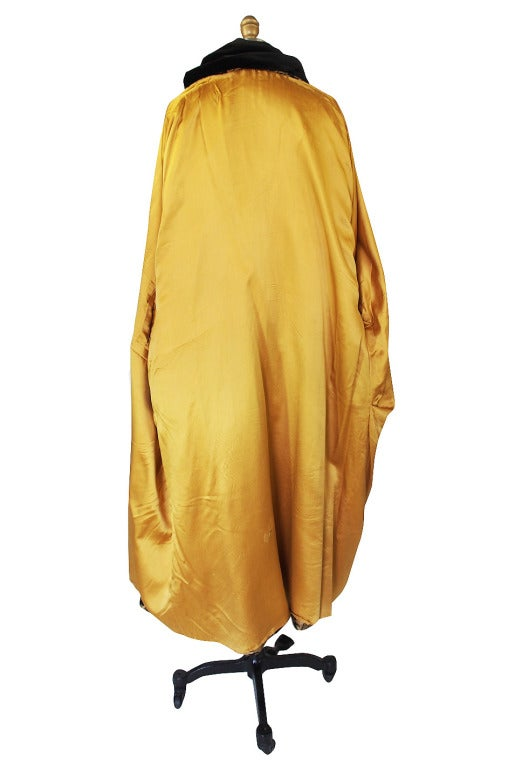 1920s Gold Lame Flapper Cocoon Coat 6