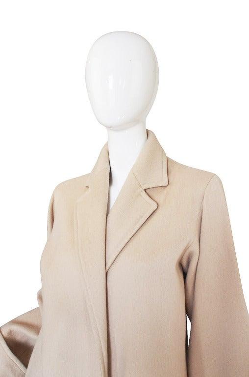 1970s Yves Saint Laurent Cream Coat 5