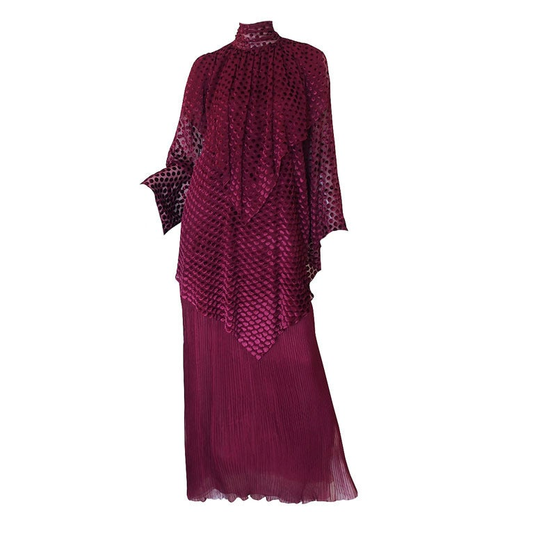 A w 1980 haute couture christian dior gown at 1stdibs for Dior couture dress price