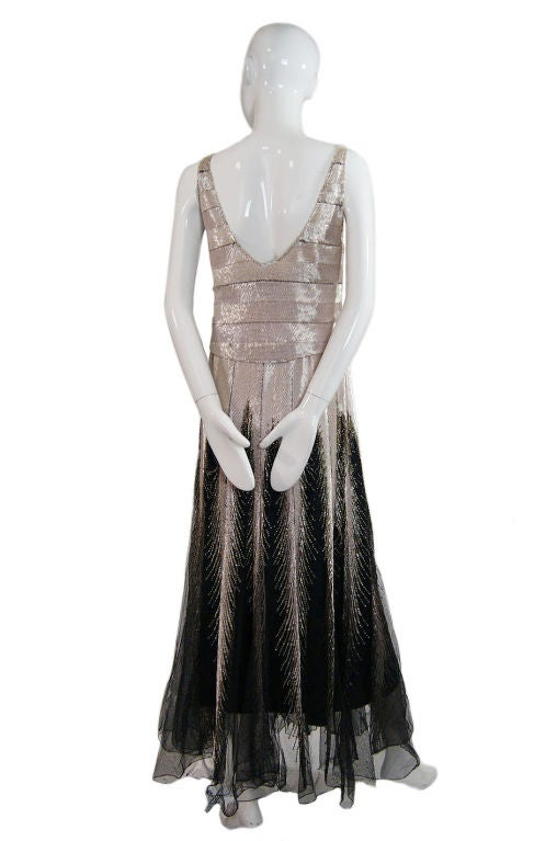 Numbered Couture 1920s Jeanne Paquin Gown 2
