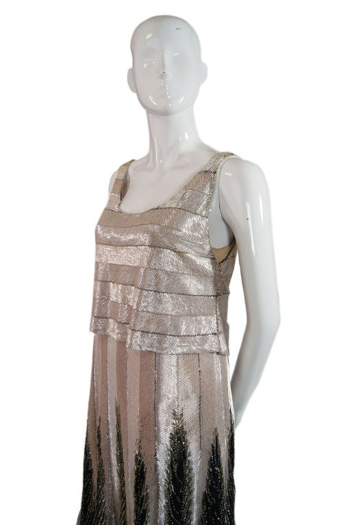 Numbered couture 1920s jeanne paquin gown at 1stdibs for 1920 s haute couture