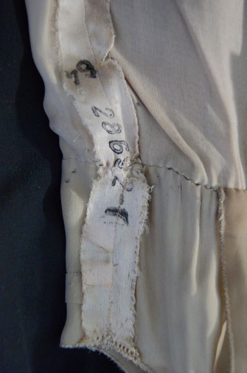 Numbered Couture 1920s Jeanne Paquin Gown 9