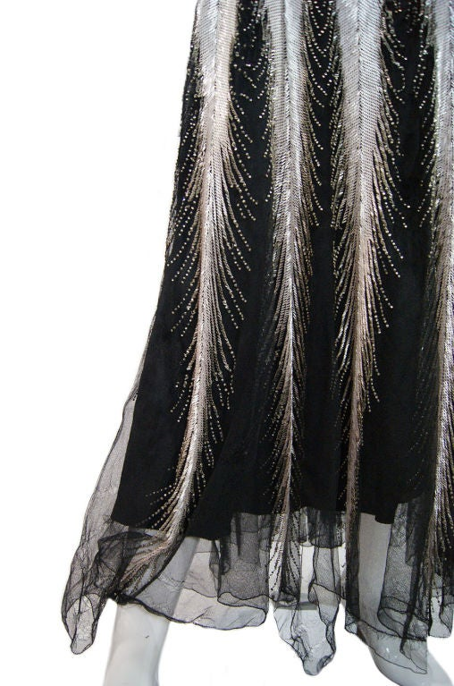 Numbered Couture 1920s Jeanne Paquin Gown 8
