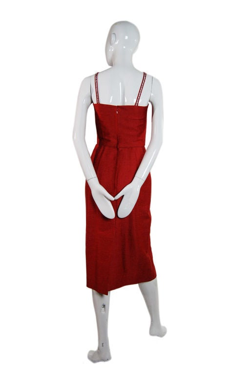 Spectacular 1940s Lilli Ann Wiggle Dress image 2