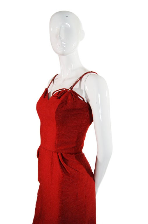 Spectacular 1940s Lilli Ann Wiggle Dress image 4