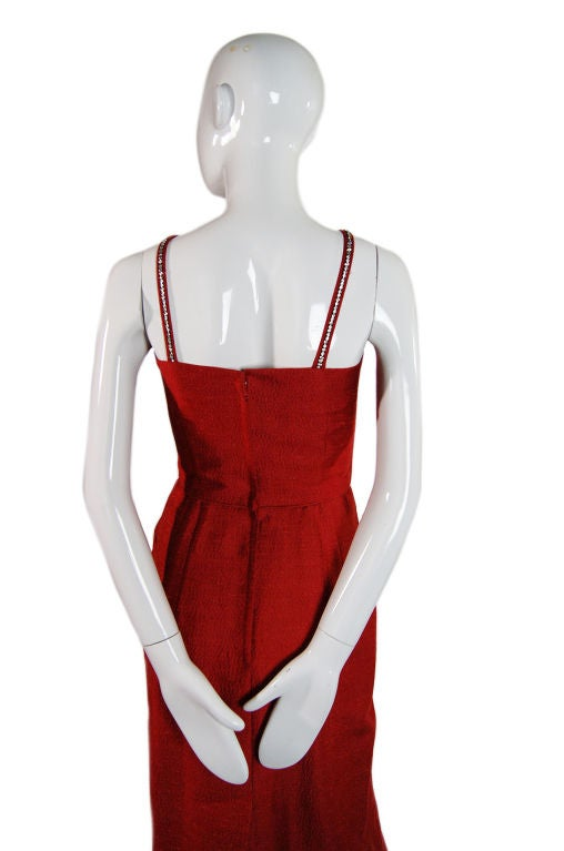 Spectacular 1940s Lilli Ann Wiggle Dress image 5