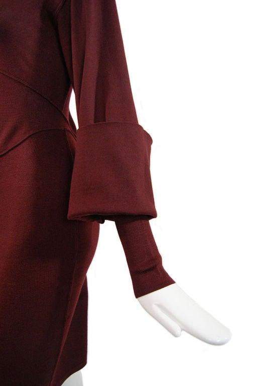 1990s Amazing Sleeved Alaia Knit Dress 6