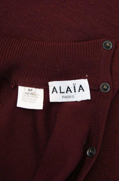 1990s Amazing Sleeved Alaia Knit Dress 7