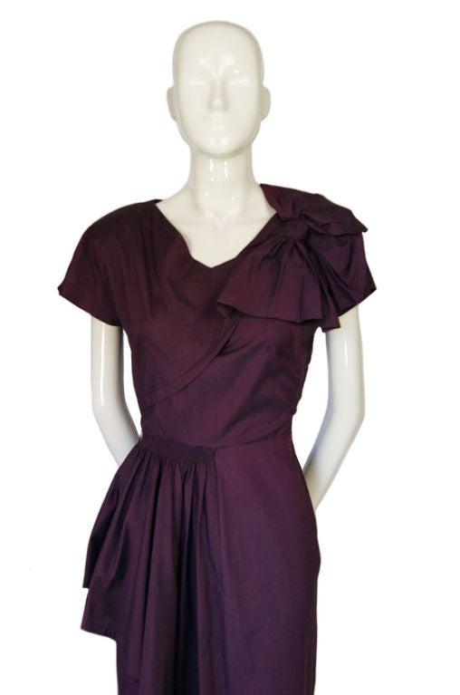 1940s Rare Eisenberg Original Dress 4