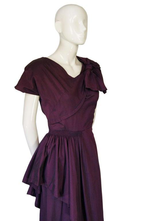 1940s Rare Eisenberg Original Dress 5