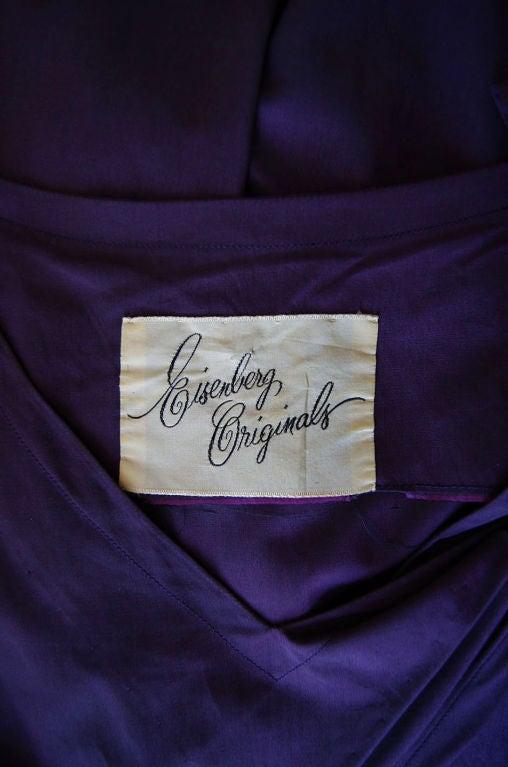 1940s Rare Eisenberg Original Dress 8