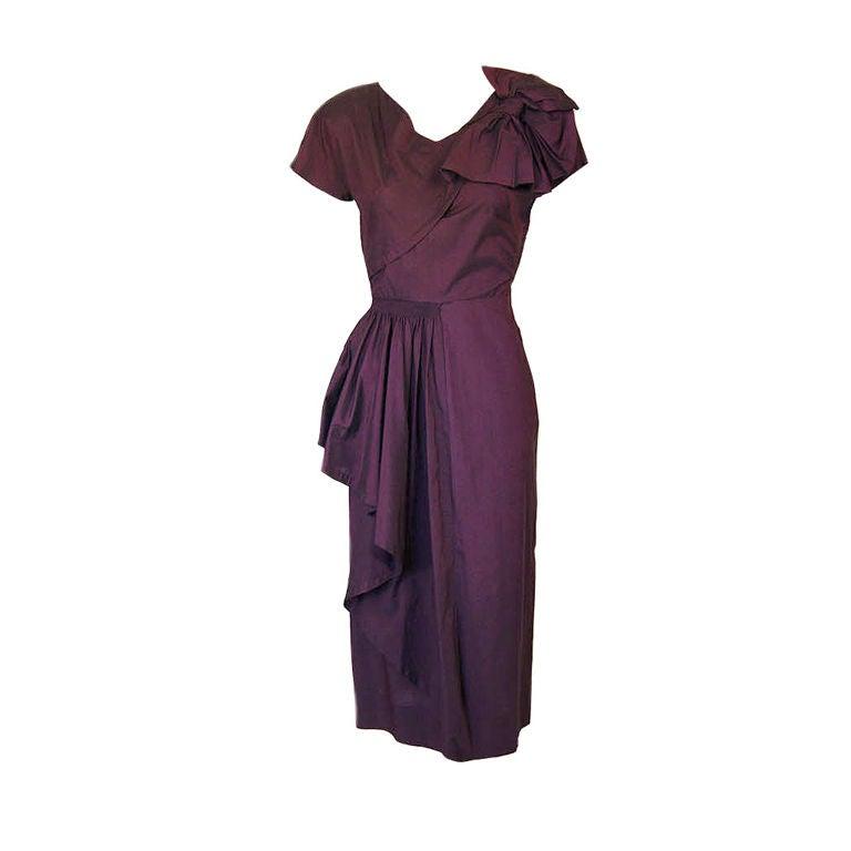 1940s Rare Eisenberg Original Dress 1