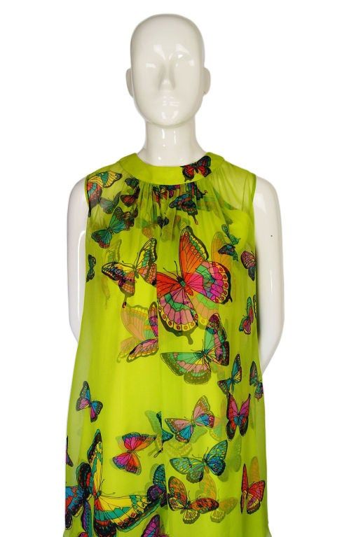1960s Hanae Mori Butterfly Baby Doll 3