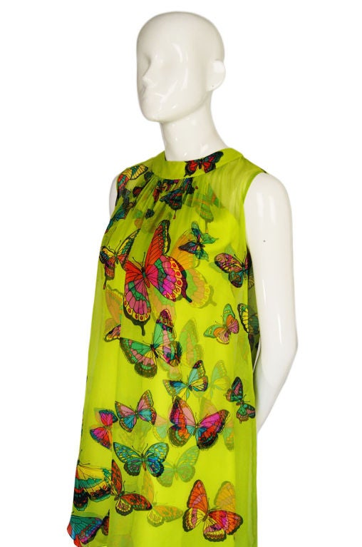1960s Hanae Mori Butterfly Baby Doll 4