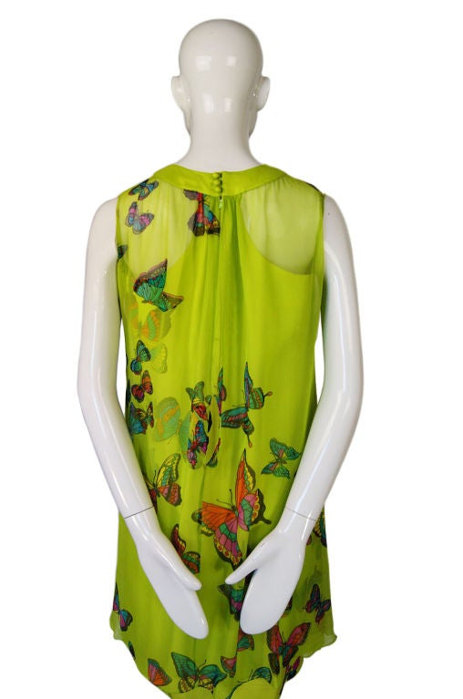 1960s Hanae Mori Butterfly Baby Doll 5