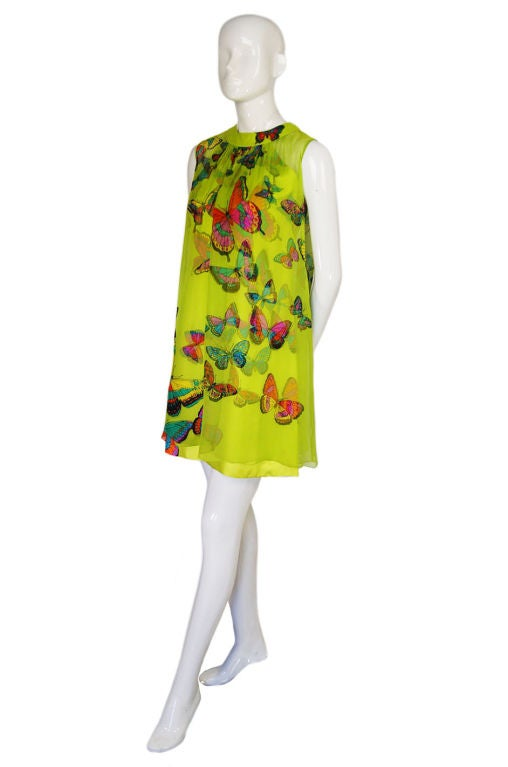 1960s Hanae Mori Butterfly Baby Doll image 8