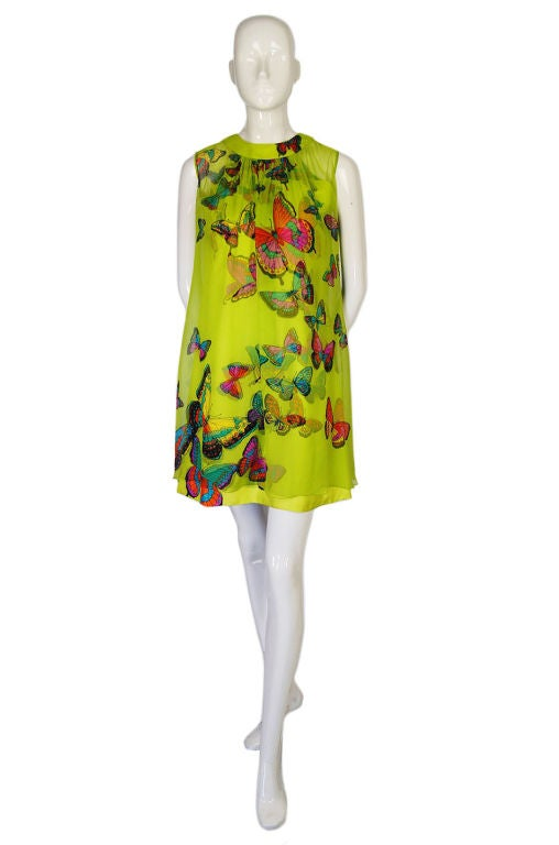 1960s Hanae Mori Butterfly Baby Doll image 9