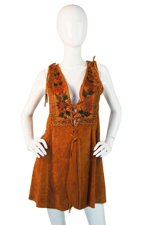 I am still having that little hippie chic bohemian moment this season so forgive me the indulgence of sharing it with you. There is just something about these late 1960s, early 1970s hand made, (and often made to order), soft as butter leathers that