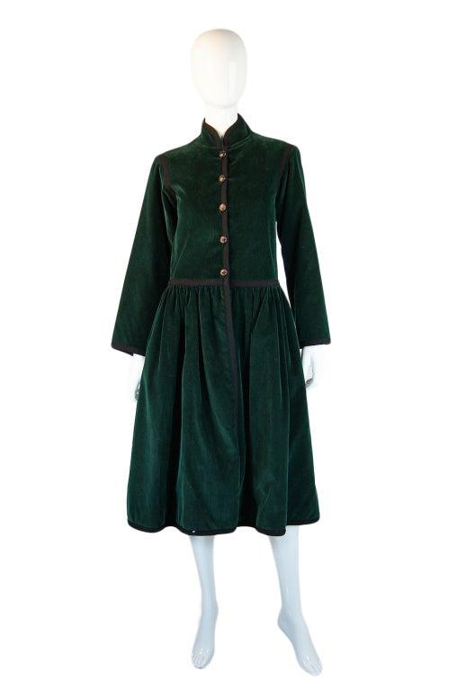 Rare 1976-77 YSL Russian Collection Coat 2