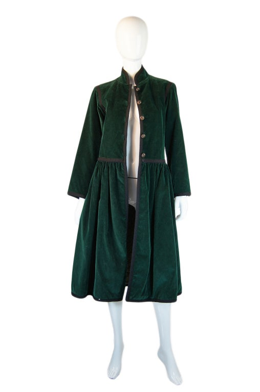 Rare 1976-77 YSL Russian Collection Coat 3