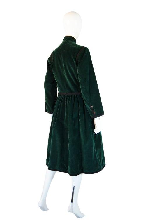 Rare 1976-77 YSL Russian Collection Coat 5