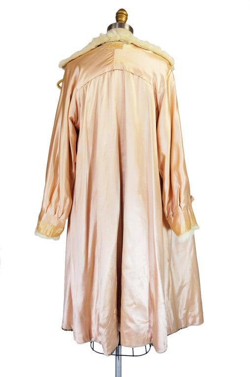 1920s Lame Brocade Velvet Flapper Coat 9