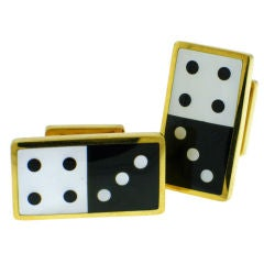 """Lucky Seven"" TIFFANY & CO. Dice Cufflinks"