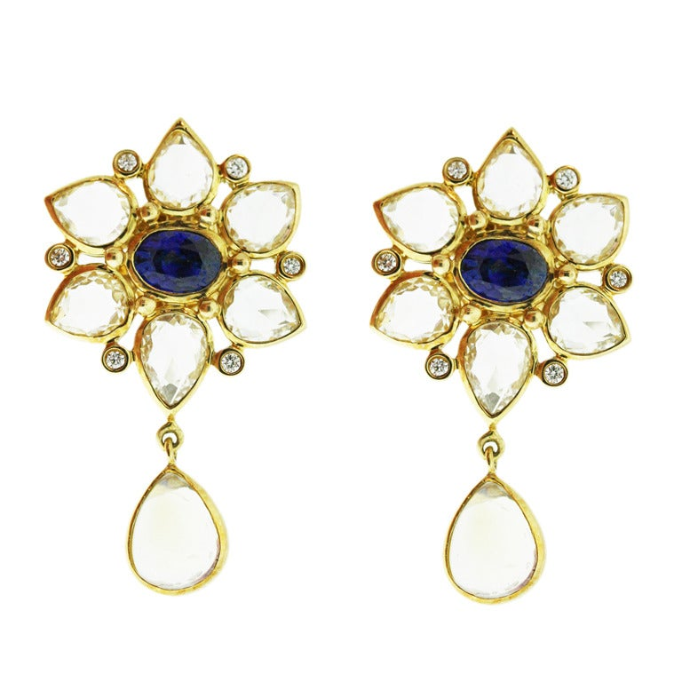 temple st clair moonstone sapphire earrings at