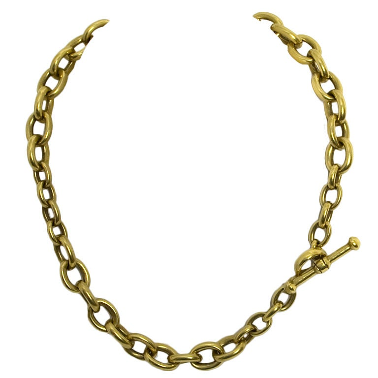 Kieselstein-Cord Gold Chain Necklace 1