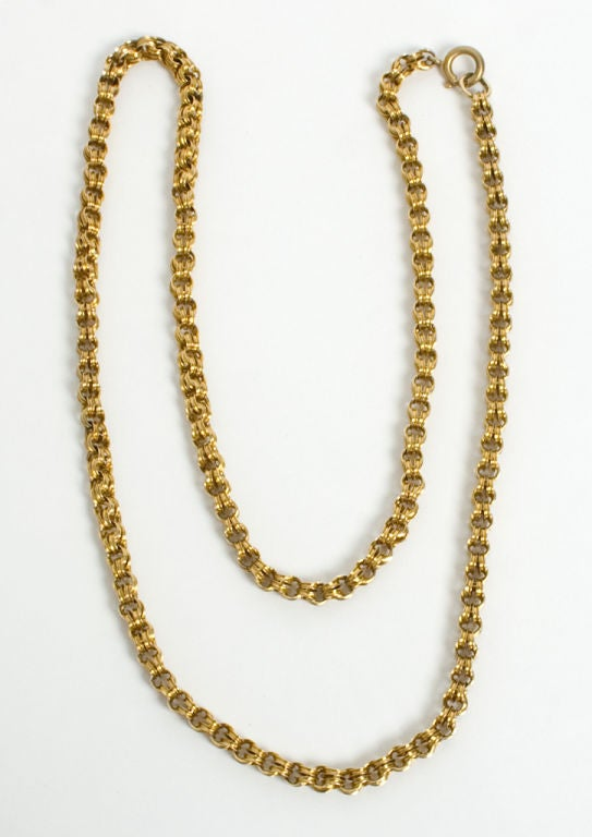 Victorian Gold Chain 3