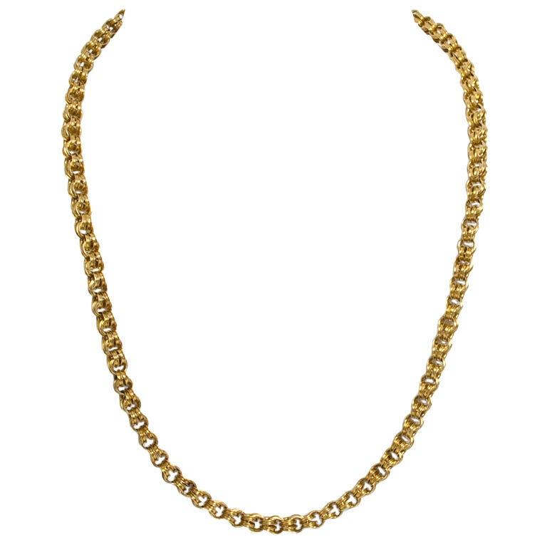 Victorian Gold Chain 1