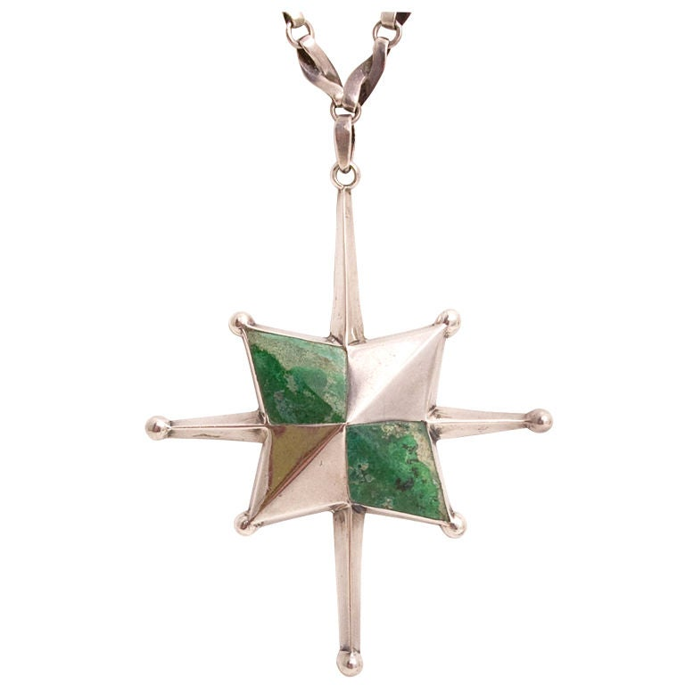 William Spratling Alaska Star Pendant