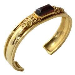 Helen Woodhull Gold Cuff Bracelet