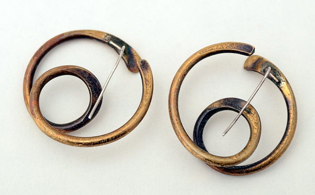 Art Smith Jewelry Art Smith Coiled Earrings
