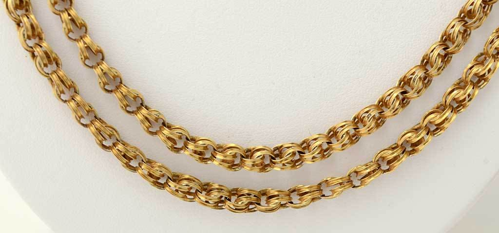 chain renaissance neck jewelry maille orig custom in ohio graduated chains bonyas medina byzantine