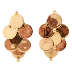 WILLIAM SPRATLING  Gold Dangle Earrings