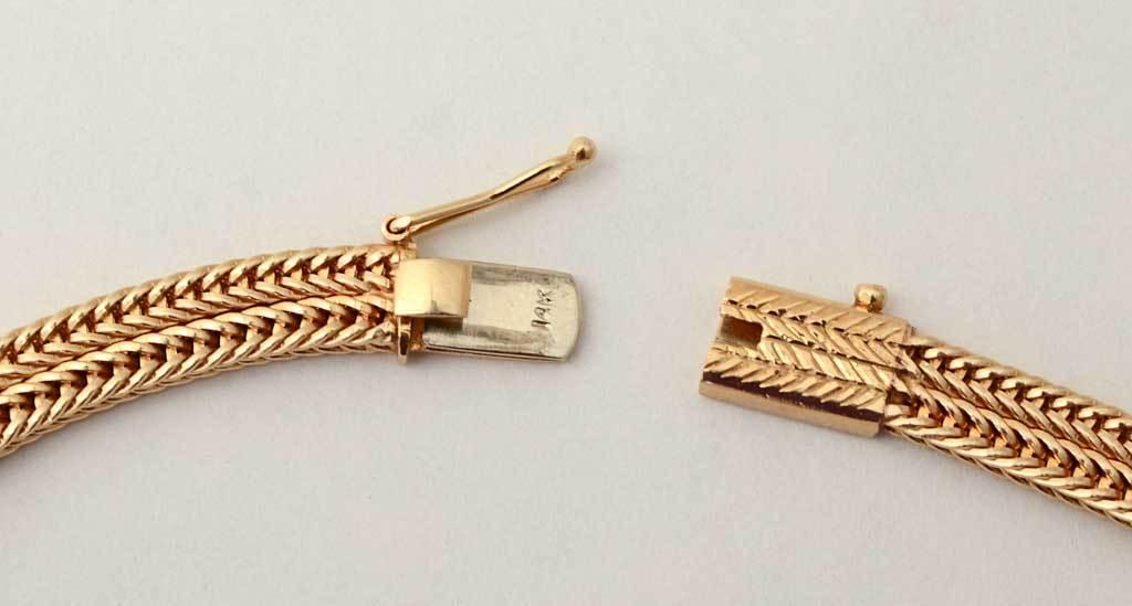 RETRO Gold and Diamonds Lariat Necklace 3