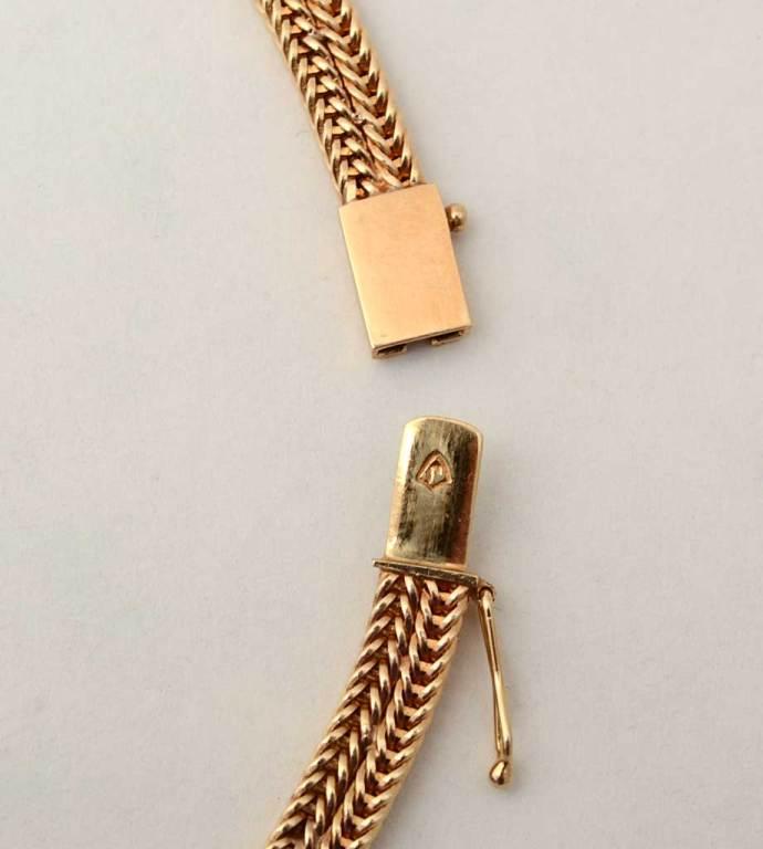 RETRO Gold and Diamonds Lariat Necklace 4