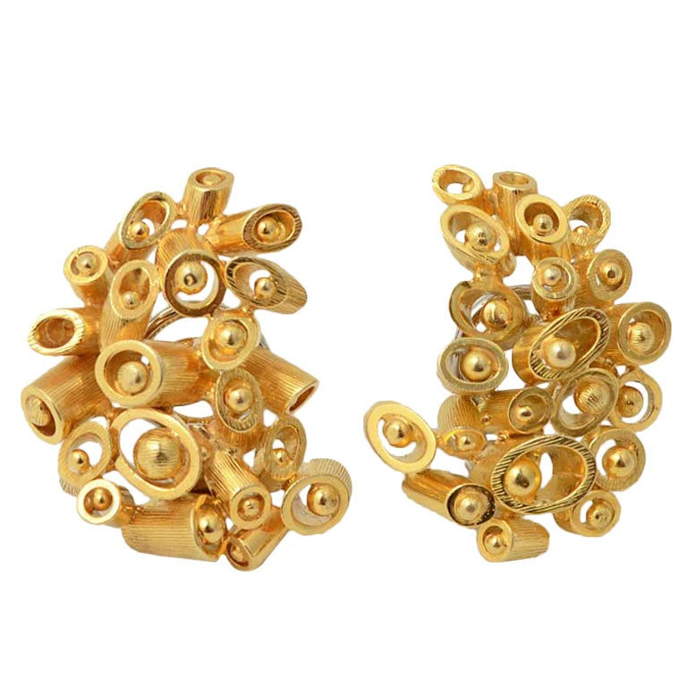 Meister Gold Earrings