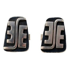 Ed Wiener Sterling Cufflinks