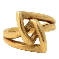 Cartier Gold Knot Ring