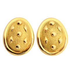 Schlumberger for Tiffany & Co. Gold Earrings