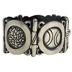 Hector Aguilar Silver Bracelet