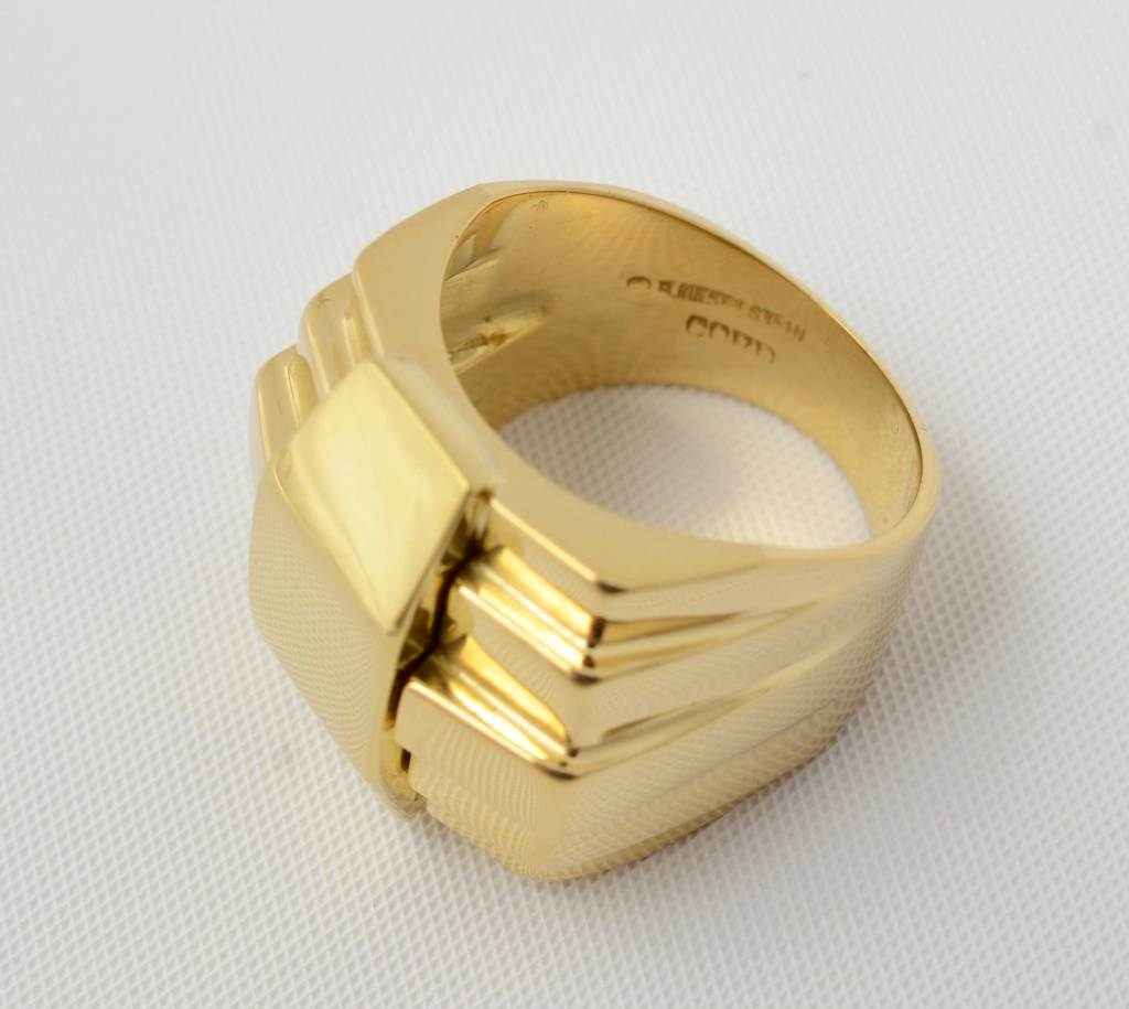 Barry kieselstein cord gold ring at 1stdibs for Barry kieselstein cord jewelry