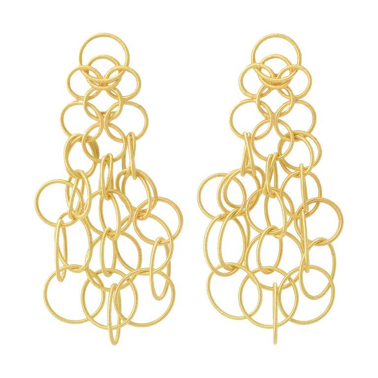 Buccellati Hawaii Gold Earrings At 1stdibs