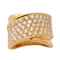 Sonia B Diamond Gold Band