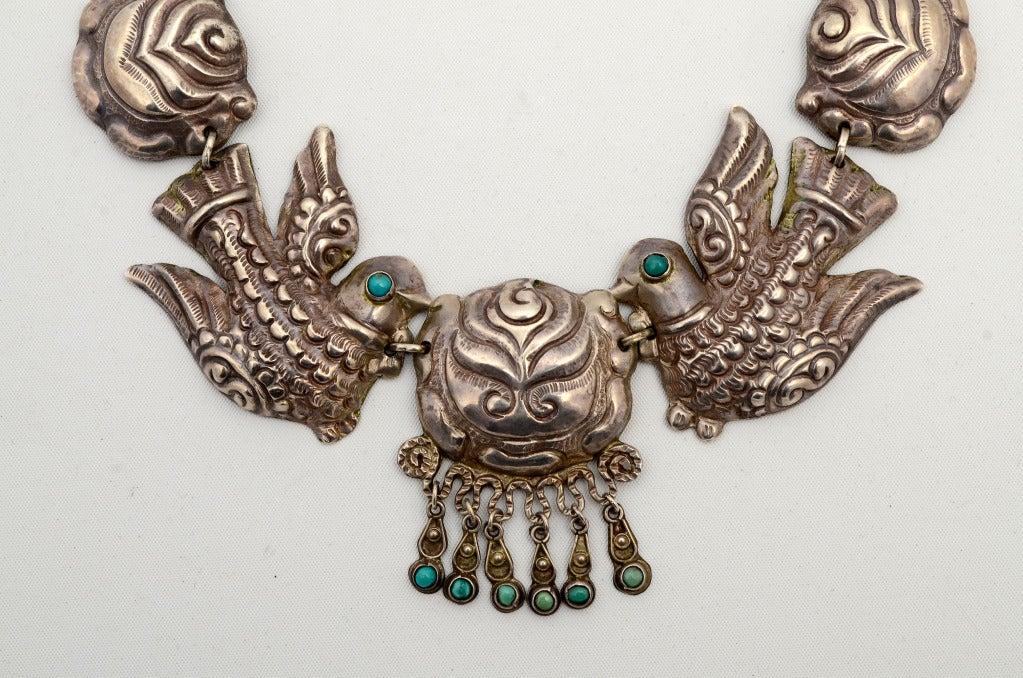 Matilde Poulat Matl Silver Necklace At 1stdibs
